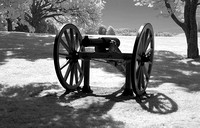 Ft Anne wheeled cannon